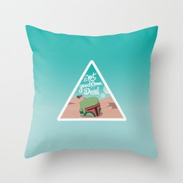 It's not good to me dead Throw Pillow