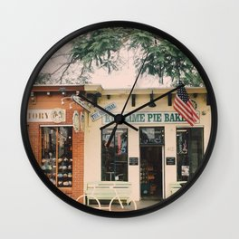 The Key Lime Bakery Wall Clock