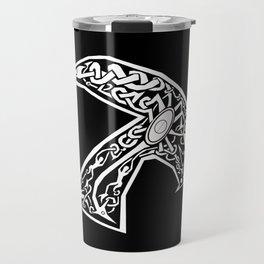 Celtic xenomorph Travel Mug