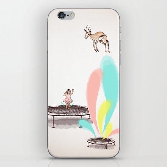 Gazelles Make Bad Friends iPhone & iPod Skin