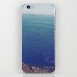 Sea green, ocean blue iPhone Skin