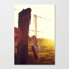 Country Ballet Canvas Print