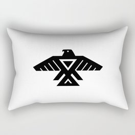 Thunderbird flag - Authentic Hi Def Rectangular Pillow