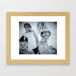 Fiherboy Framed Art Print