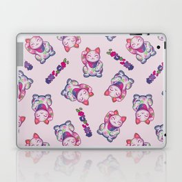 Maneki Neko Cotton (Bare Version) Laptop & iPad Skin