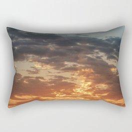 Fiery Sky #3 Rectangular Pillow