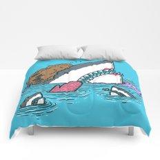 The Mom Shark Comforters