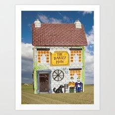 Barley Mow House Art Print