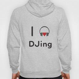I heart DJing Hoody