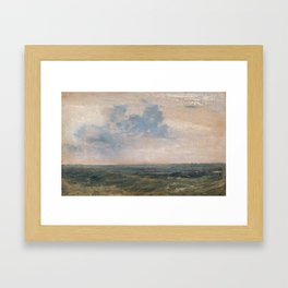 Joseph Mallord William Turner 1775–1851  Study of Sea and Sky, Isle of Wight Framed Art Print