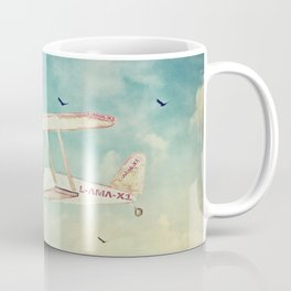 ALPACAS EXPLORING III - THE SKY Coffee Mug