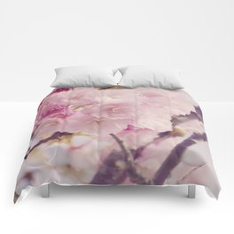 Bright of Cherry blossom #4 Comforters
