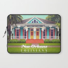 Uptown House Laptop Sleeve