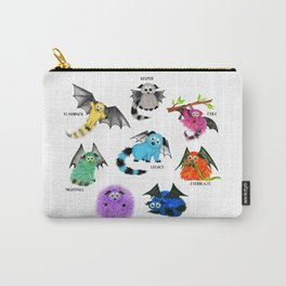 Eight Little Iggys Carry-All Pouch