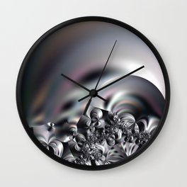 Complexity under smooth simplicity - Abstract play with focus Wall Clock