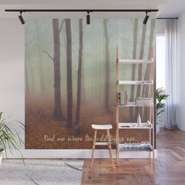 WILD QUOTES Wall Mural