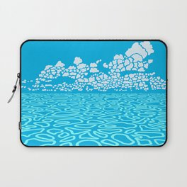 Tropical Ocean by Black Dwarf Designs Laptop Sleeve