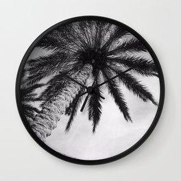 Florida Palm Tree Wall Clock