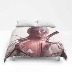Wadey Wilson - Merc with a mouth Comforters