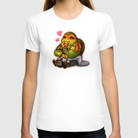 chibi T-shirts featuring Chibi Michelangelo by Noodles ^7^