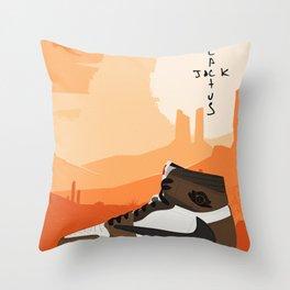 Travis Jordan 1 Scott Poster Throw Pillow