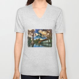 Into The River Unisex V-Neck