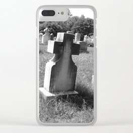 Cimetary1 Clear iPhone Case