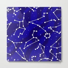 Starlight Star Bright Metal Print