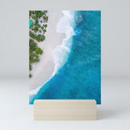 Blissful Ocean Mini Art Print