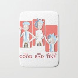 Good Rick. Bad Rick. And The Tiny Rick! Bath Mat