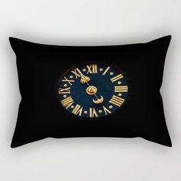 vintage clock_4 Rectangular Pillow