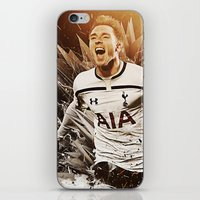 christian iPhone & iPod Skins featuring Christian Eriksen by Max Hopmans / FootWalls
