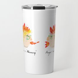 Argue couple Travel Mug