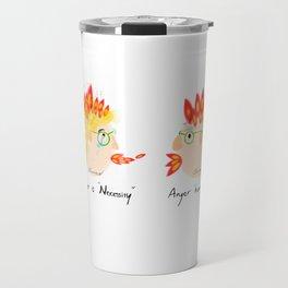 Argue couple Travel Mug