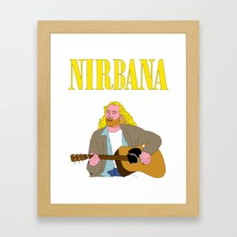 Nirbana Framed Art Print