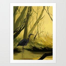 Birb Art Print