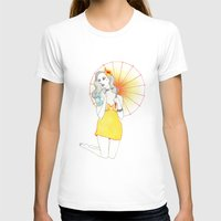 pin up T-shirts featuring Pin-Up  by Susana Carvalhinhos
