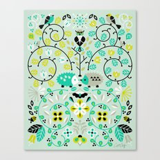 Hedgehog Lovers Canvas Print
