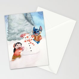 Lilo and Stitch Stationery Cards