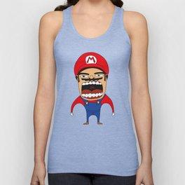 Screaming Mario Unisex Tank Top