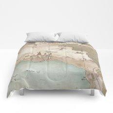 Map of Hogwarts Comforters