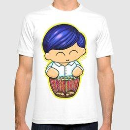 Chapin Kokeshi Boy Blue T-shirt