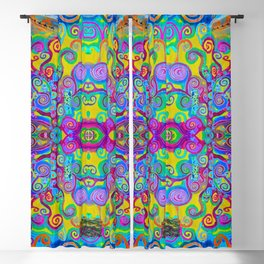 Klimt Tree of Life Mandala Blackout Curtain