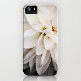 Judi Dench Dahlia iPhone Case