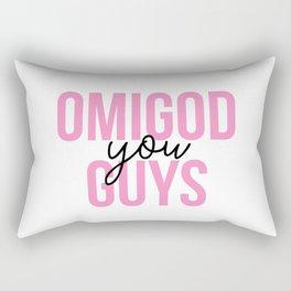 Omigod You Guys Rectangular Pillow