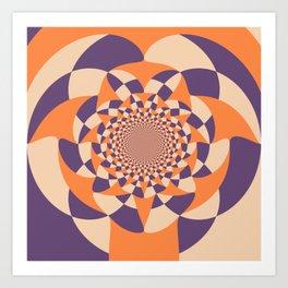 Windmill abstract Art Print