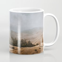 Fog and Clouds on Mount Tamalpais Coffee Mug