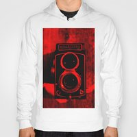 vintage camera Hoodies featuring Camera by short stories gallery