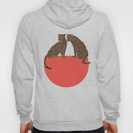 Leopards and shape Hoody