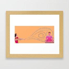Kimbra Cameo Lover Framed Art Print